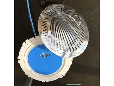 AquAirMusic - built-in underwater speaker - Inox 316L front