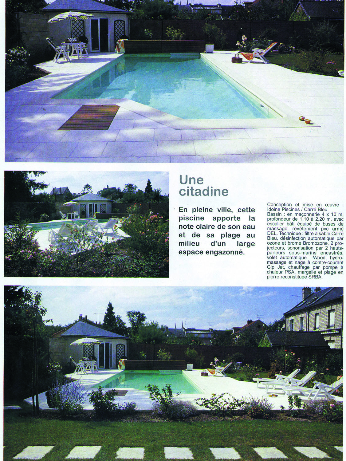 Aquamusique ann e 1995 aquamusique for Piscine de vaise
